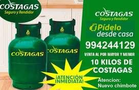 SERVICIO DE VENTA DE GAS COSTAGAS