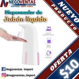 DISPENSADOR DE JABON LIQUIDO