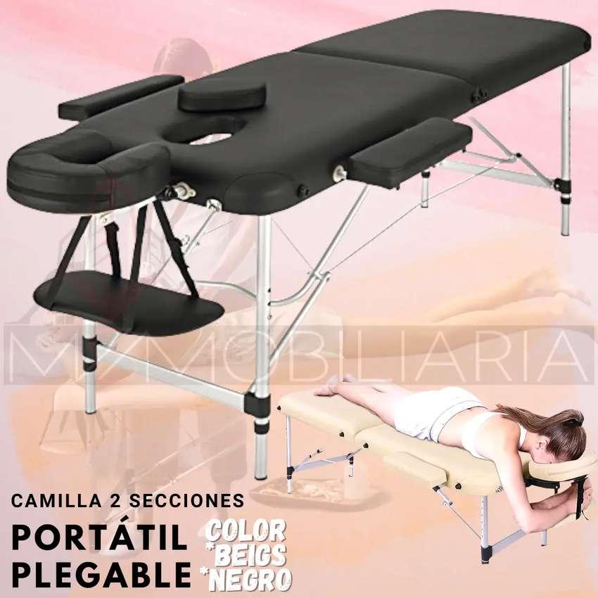 Camilla Portatil Plegable De Aluminio De Spa Masaje Fisioterapia