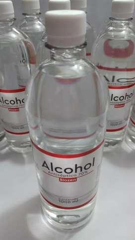Alcohol antiséptico 70% 1000 ml