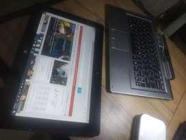 Vendo o cambio Portátil core i5 táctil 4 ram