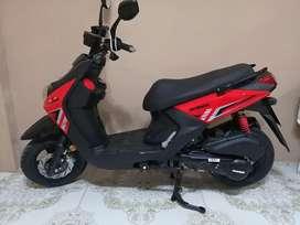 Alquiler de moto pasola automatica de 150cc