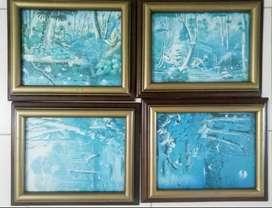Colección de cuadros naturaleza antiguos