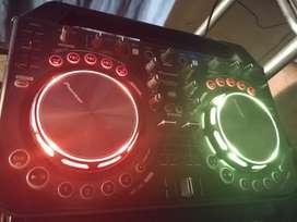 Consola dj Pioneer. Controladora de sonido Pioneer WE GO 2. Mixer