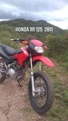 Honda Xr 125 2011 , Financio