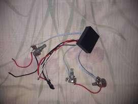Vendo circuito para bajo electrico tres controles