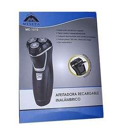 Afeitadora Recargable Inalambrico 3 Cabezales  Delivery