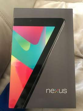 Tablet Asus Nexus Nuevas con 3G y wifi