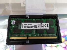 Memoria RAM Pc3L DDR3L 8gb Kingston