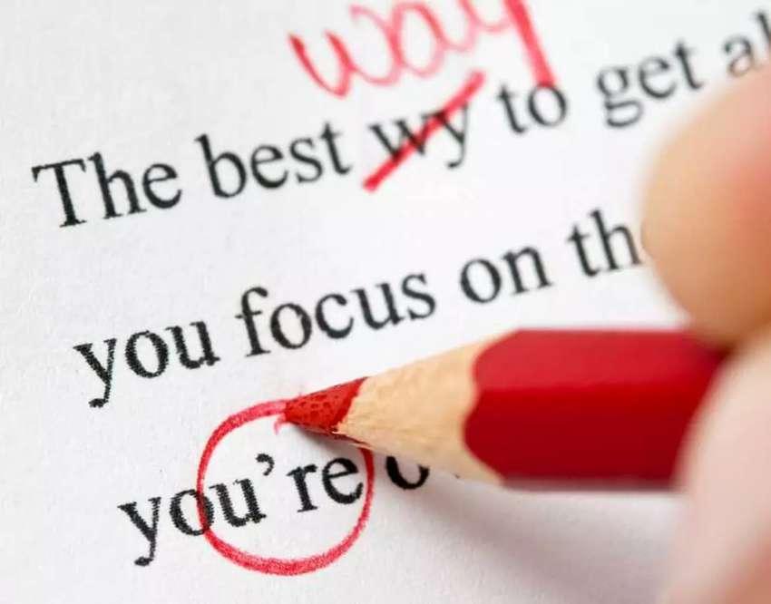 Corrección de textos, correos, párrafos, ensayos IELTS/TOEFL en Inglés y Español (Proofreader)