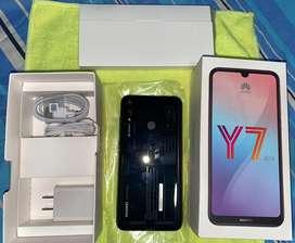 Huawei y7 2019 completamente nuevo, color negro 10 de 10.
