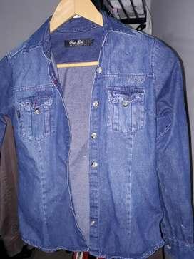 Camisa de Jean de Marca Talle S