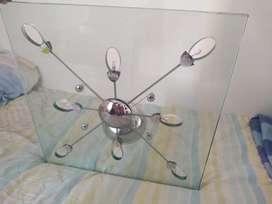 Lámpara de techo en vidrio