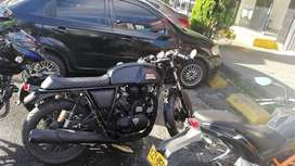 Royal enfield continental GT modelo 2015 negro mate