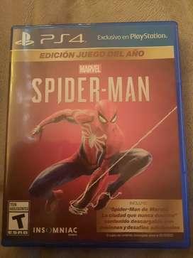 Vendo Spiderman para Ps4