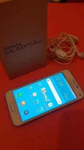 Samsung S5 mini Muy sano!!