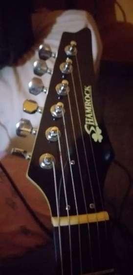 Guitarra importada primera calidad alta gama sonido muy duro oportunidad impecable