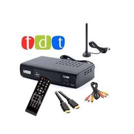 Decodificador Tdt Dv3t2 Hdmi Usb Rga Coaxial Tv Fm