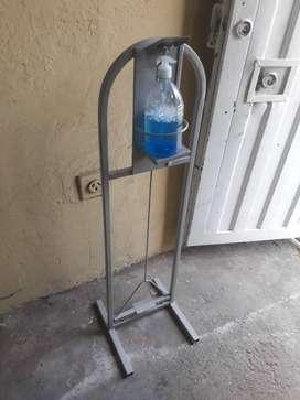 Estacion de pedal para manos