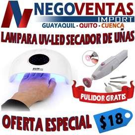 LAMPARA UV-LED SECADOR DE UÑAS