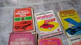Manuales de reparación de vehículos