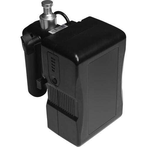 Empuñadura de batería Nanlite V-Mount para Forza 60 / 60B