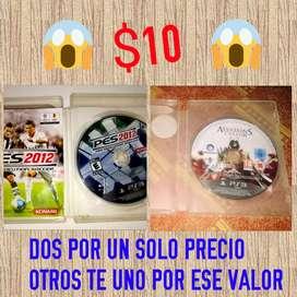 DOS JUEGOS PS3