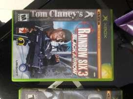 Juegos Xbox Callduty Rainmbow Six3