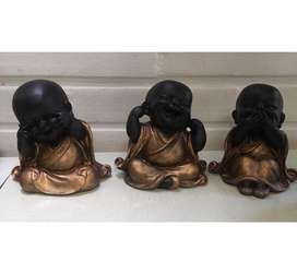 Set de Budas Bebes en Marmolina