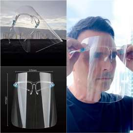Careta de bioseguridad tipo gafa