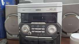 Equipo de Musica Philips No Lee Cd -