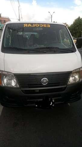 A la venta Van 14 pasajeros Nissan Urban