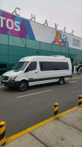 Alquiler de Combi O Minivan Bus Sprinter