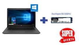 Portátil HP 245 G7 RYZEN 3 (1X5V7LT#ABM) 1TB + 250 GB SSD