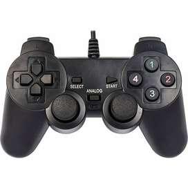Palanca Control Gamepad Pc Usb Marvo Scorpion Vibración