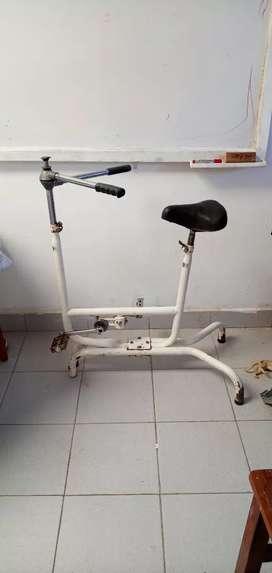 Bicicleta para hacer gimnasia