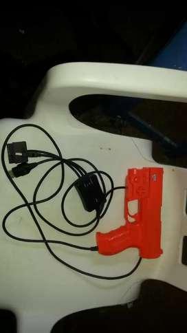 Pistola zapper ps2 xbox clasico pc para repuesto