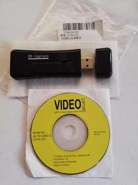 Tarjeta Capturadora de video HDMI Usb 1080 HD