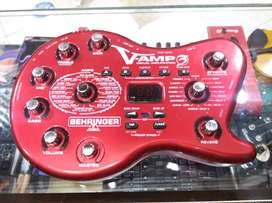 Pedal behringer V-Amp 3
