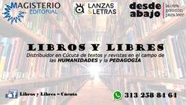LIBROS Y REVISTAS DE HUMANIDADES Y PEDAGOGÍA