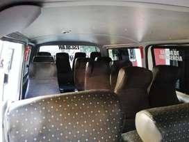 Vendo o permuto Volkswagen T5  2012 y JIMBEI 2014 Cap.17 pasajeros