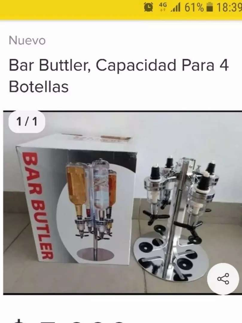 Vendo expenser 4 botellas 0