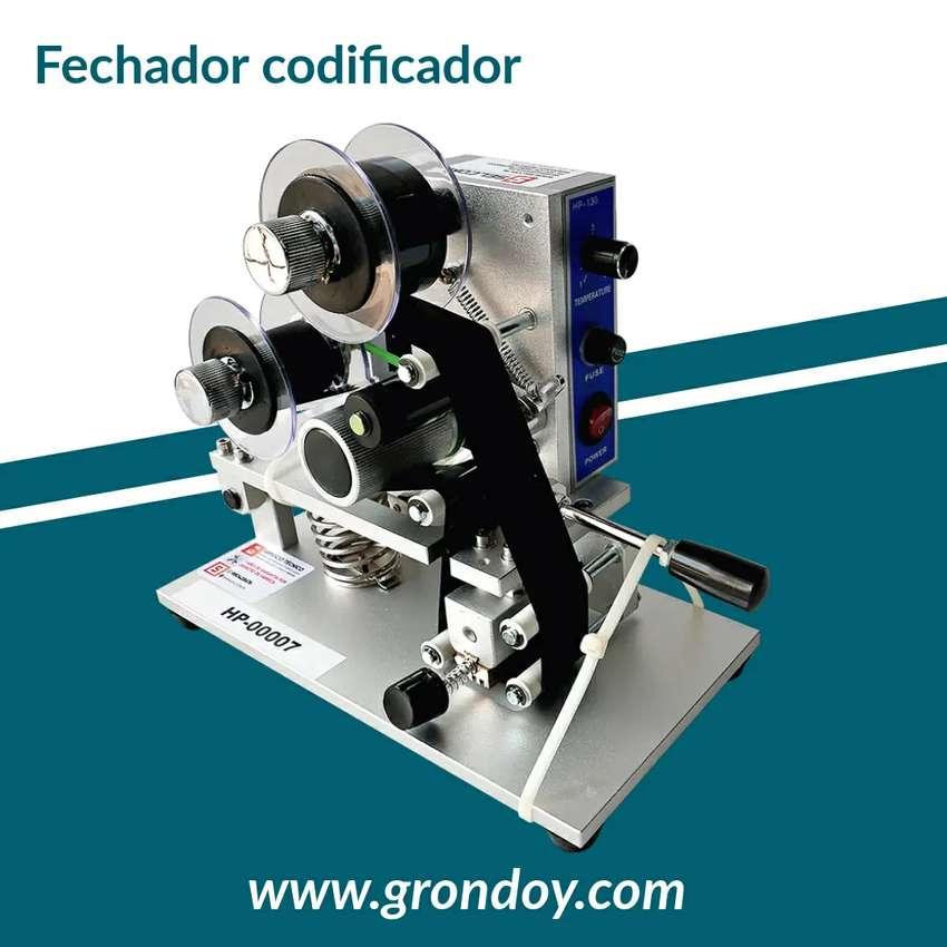 Fechador Codificador - Rotulador - Sellador De Fecha - Estampado En Bolsa - Selladora eléctrico - Etiquetadora 3 líneas 0
