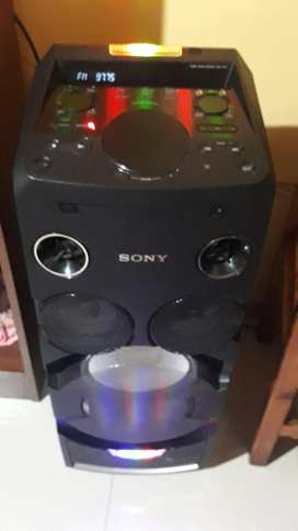 Vendo Columna Mhc V7 Sony
