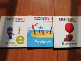 POCOYO Libros de lectura