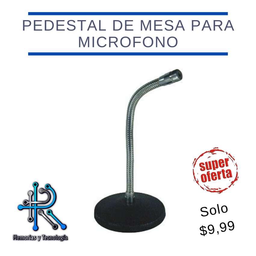 Pedestal de mesa para microfono 0