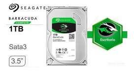 DISCO DURO HDD 1TB  SEAGATE BARRACUDA PC Y LAPTOP