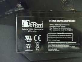 Cargador de baterías y baterías