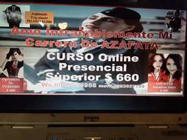 AMO INTRAÑABLEMENTE MI CARRERA DE AZAFATA CURSO ONLINE PRESENCIAL SUPEROR