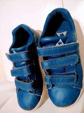 zapatilla le coq sportif abrojo 28 cuero azul poco uso